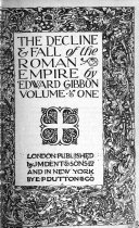 The Decline and Fall of the Roman Empire Book