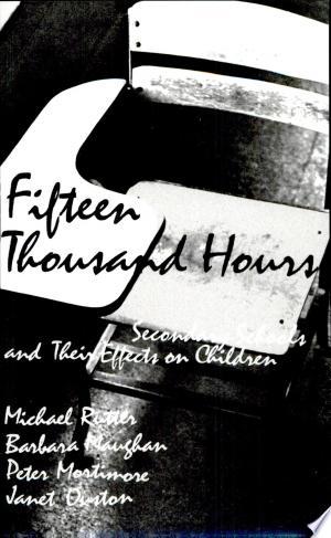 Read Online Fifteen Thousand Hours Full Book