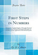 First Steps in Numbers