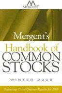 Mergent S Handbook Of Common Stocks Book PDF