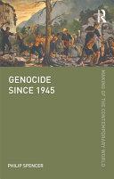 Genocide since 1945 Pdf/ePub eBook