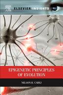Pdf Epigenetic Principles of Evolution Telecharger