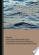 Teaching Psychology around the World  Volume 4  Book