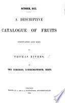 October  1855  A descriptive catalogue of Fruits