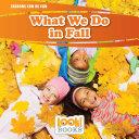 What We Do in Fall [Pdf/ePub] eBook