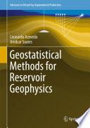 Geostatistical Methods for Reservoir Geophysics Book
