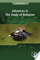 Advances in the Study of Behavior Book