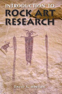 Introduction To Rock Art Research Book PDF