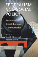 Federalism and Social Policy