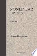 Nonlinear Optics Book