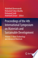 Proceedings of the 4th International Symposium on Materials and Sustainable Development