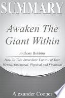 Summary of Awaken the Giant Within Book PDF