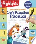 Write On Wipe off Let s Practice Phonics