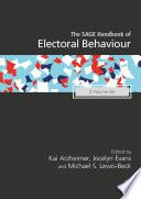 The Sage Handbook Of Electoral Behaviour