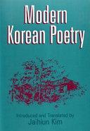Modern Korean Poetry