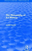 The Philosophy of Art History