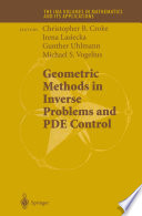 Geometric Methods in Inverse Problems and PDE Control Book