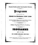 Versuch einer statistisch-geographischen Beschreibung des Grossherzogthums Luxemburg