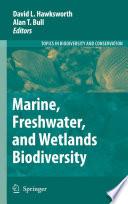 Marine  Freshwater  and Wetlands Biodiversity Conservation Book