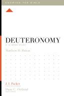 Deuteronomy Pdf/ePub eBook