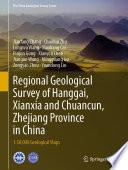Regional Geological Survey of Hanggai  Xianxia and Chuancun  Zhejiang Province in China
