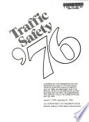 A Report On Activities Under The National Traffic And Motor Vehicle Safety Act Of 1966 And The Motor Vehicle Information And Cost Savings Act Of 1972