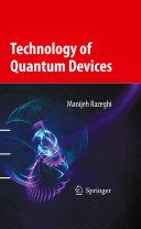 Pdf Technology of Quantum Devices