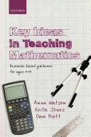Key Ideas in Teaching Mathematics