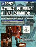 National Plumbing and HVAC Estimator Book