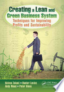 Creating a Lean and Green Business System Book