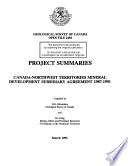 Geological Survey of Canada  Open File 2484