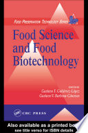 Food Science and Food Biotechnology