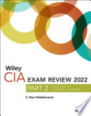 Wiley CIA 2022 Part 2 Exam Review