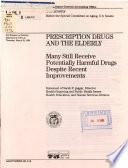 Prescription Drugs and the Elderly Book