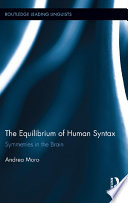 The Equilibrium of Human Syntax Book