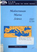 Mediterranean Marine Science Book