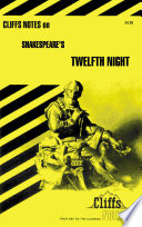 CliffsNotes on Shakespeare s Twelfth Night Book