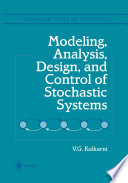 Modeling Analysis Design And Control Of Stochastic Systems Book PDF
