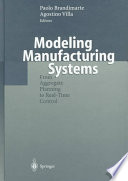 Modeling Manufacturing Systems Book PDF
