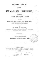Guide Book to the Canadian Dominion