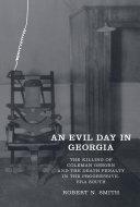 An Evil Day in Georgia