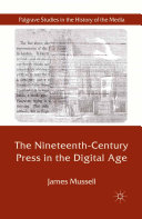 The Nineteenth-Century Press in the Digital Age [Pdf/ePub] eBook
