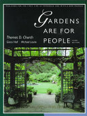 Gardens Are For People  Third Edition