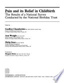 Pain and Its Relief in Childbirth