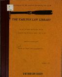 Tarlton Law Library Legal Bibliography