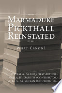 Marmaduke Pickthall Reinstated Book PDF