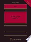 Criminal Law in Focus Book