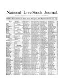 The National Live stock Journal Book