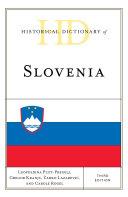 Historical Dictionary of Slovenia Pdf/ePub eBook