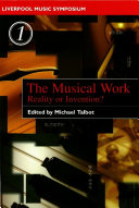 Pdf The Musical Work Telecharger
